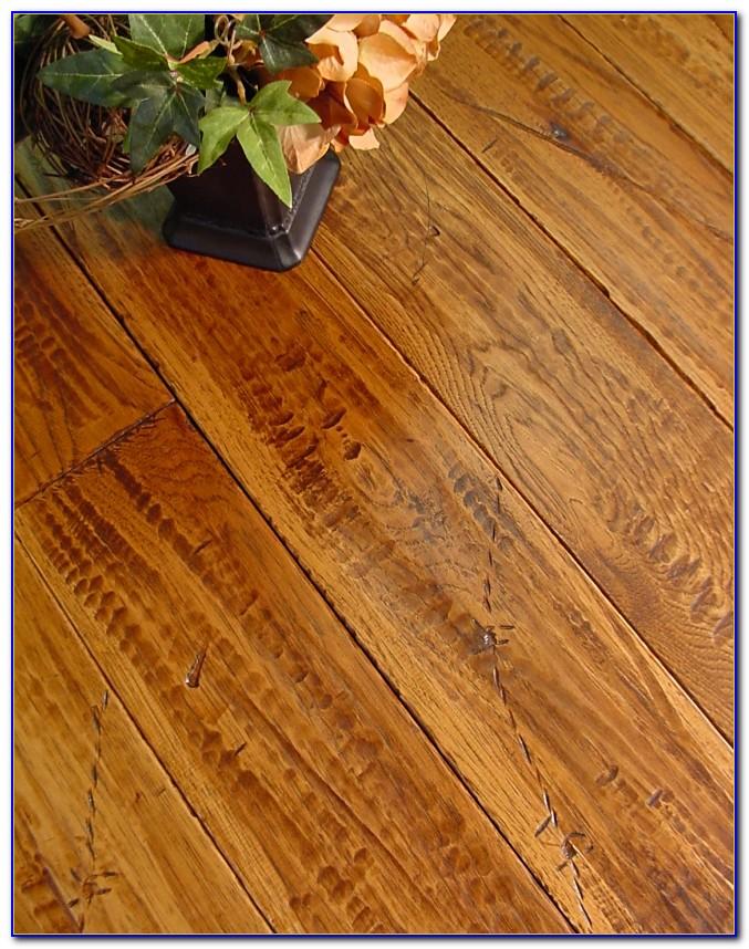 Hand Scraped Hickory Wood Flooring