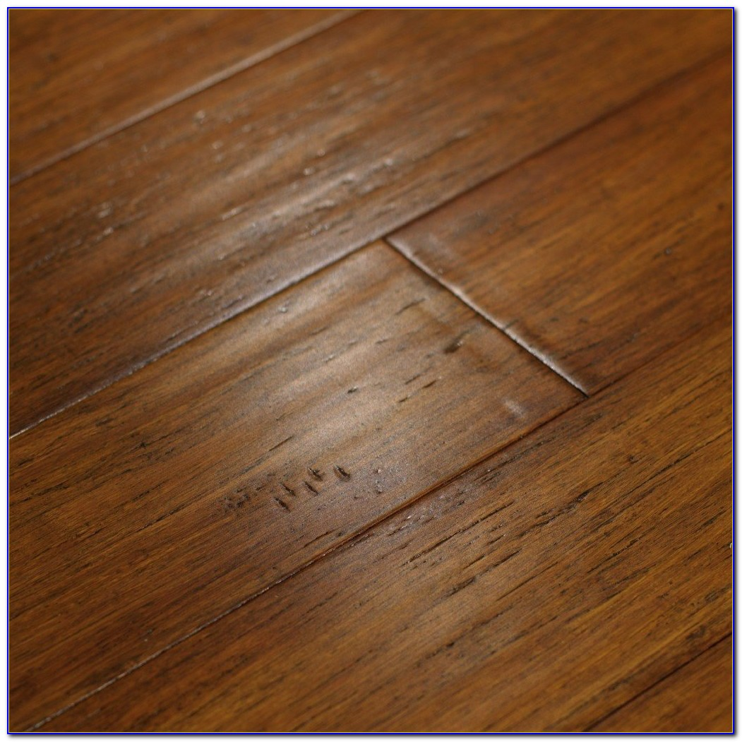 Hand Scraped Strand Woven Bamboo Flooring