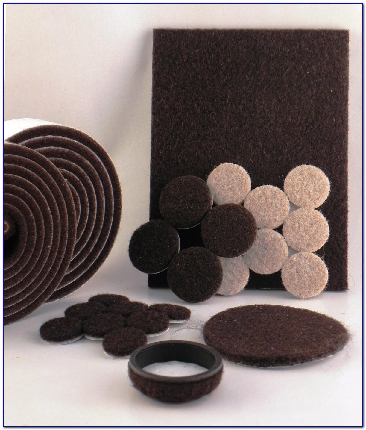 Hardwood Floor Furniture Protectors Adhesive Felt Pads