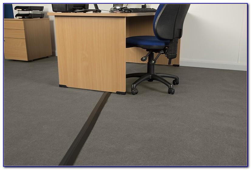 Hide Cords Across Floor