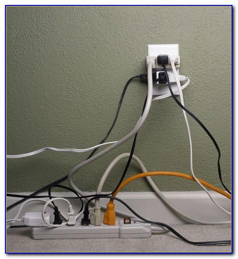 Hide Tv Wires On Floor