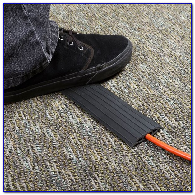 How To Hide Wires On Carpet Floor