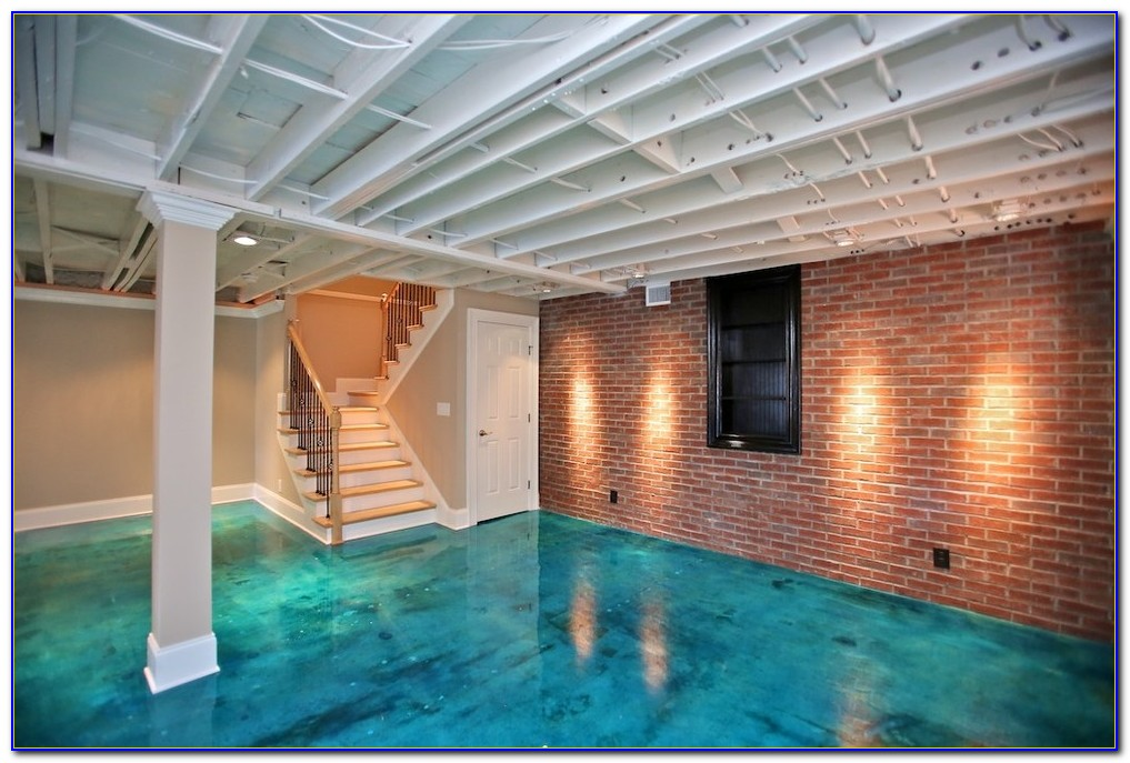 Ideas For Concrete Basement Floors
