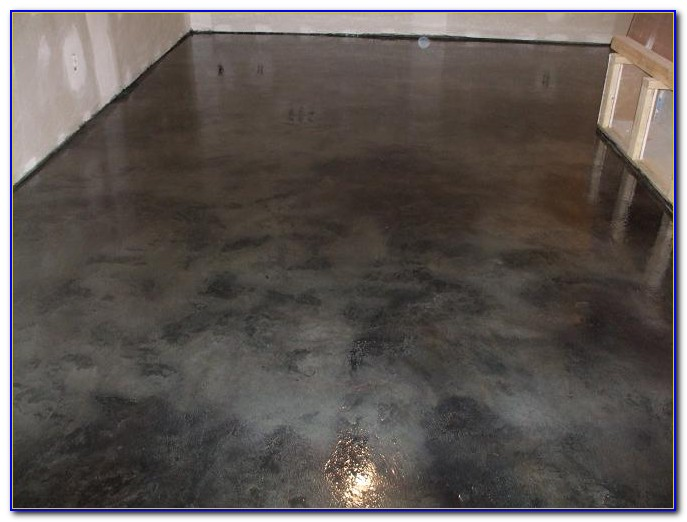 Images Of Painted Concrete Basement Floors