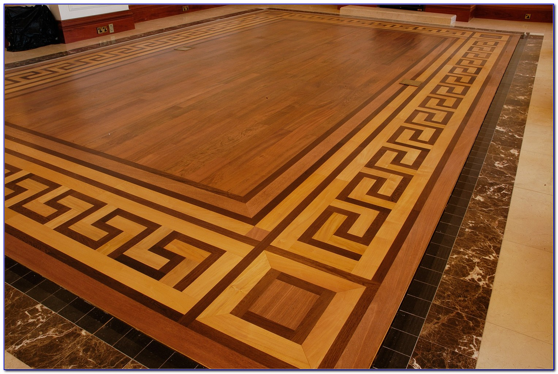 Inlay Parquet Wood Flooring