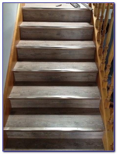 Installing Linoleum Flooring On Stairs