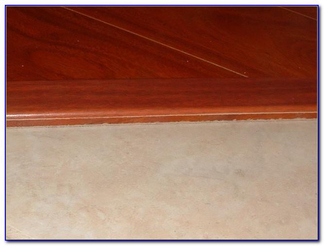 Installing Reducer Strip Laminate Flooring