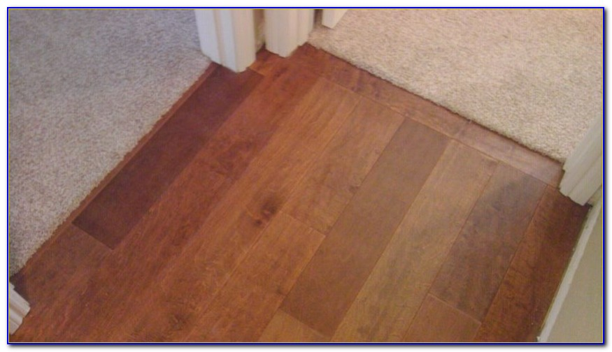 Installing Transition Strips For Laminate Flooring