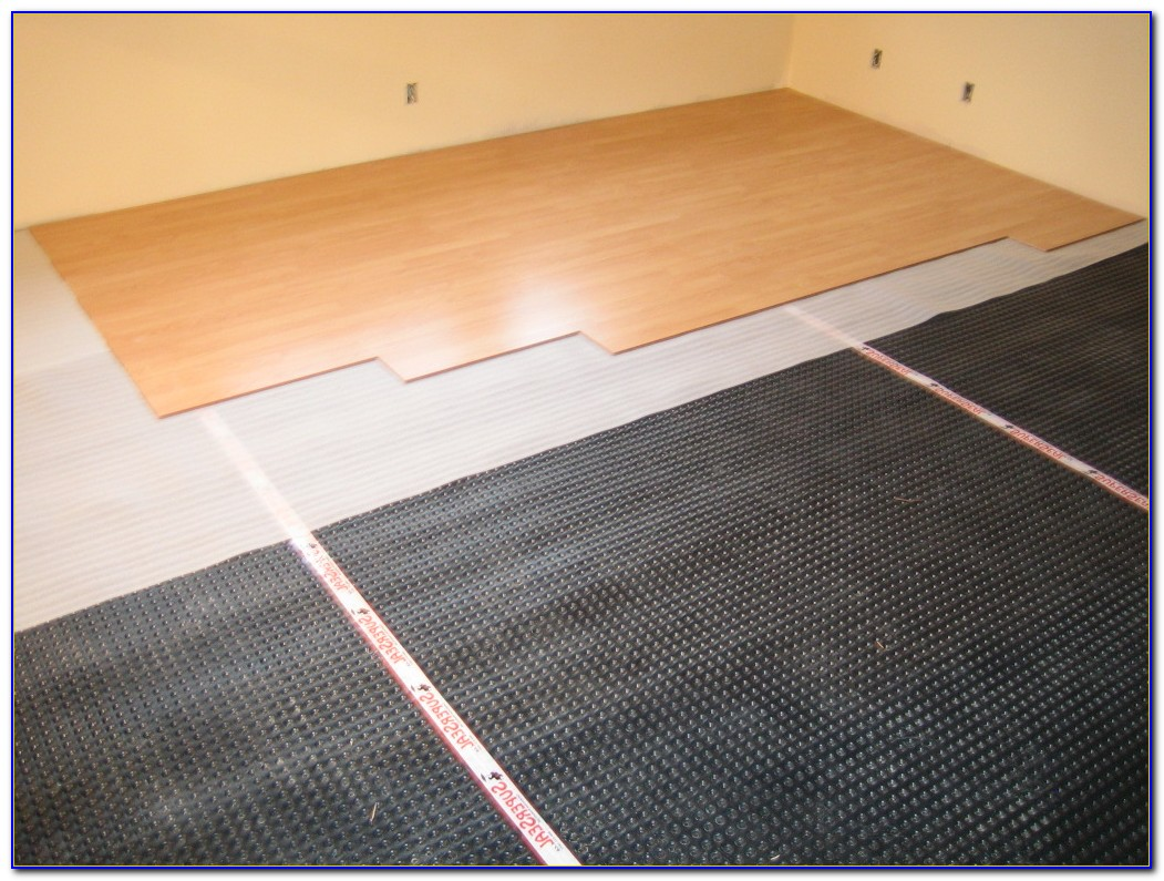 Installing Wood Laminate Flooring On Wood Subfloor