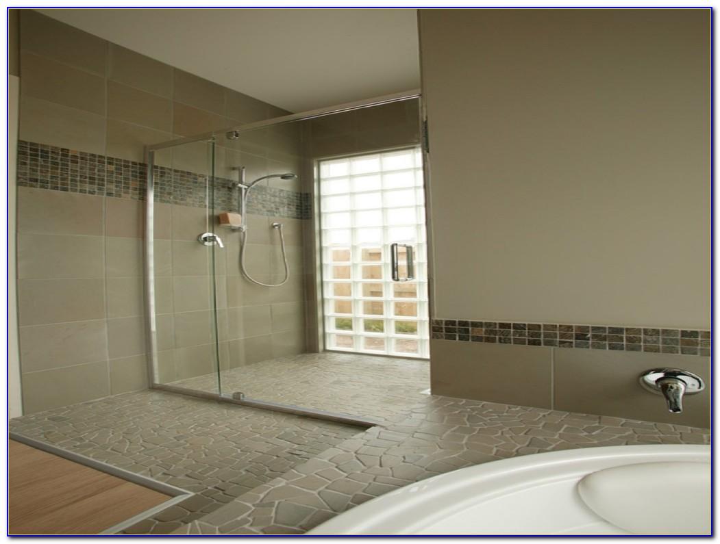 Interlocking Vinyl Floor Tiles Bathroom