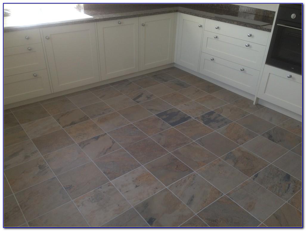 Kuala Black Porcelain Slate Effect Floor Tiles