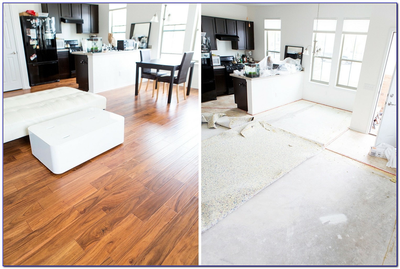 Laying Engineered Hardwood Floors