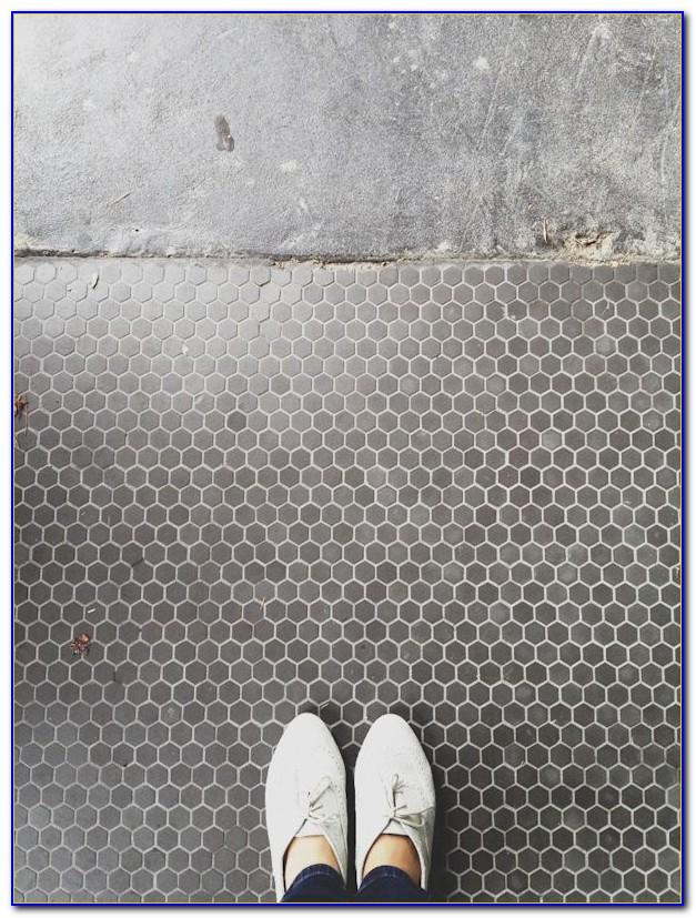 Light Grey Hexagon Floor Tile
