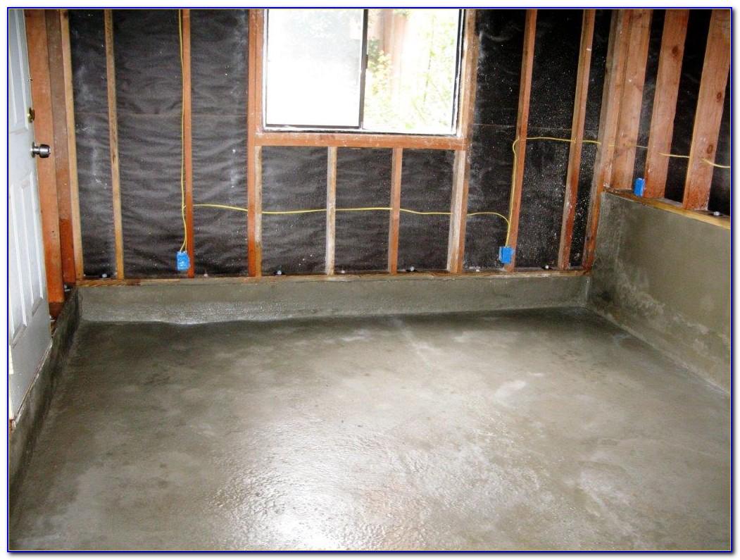 Moisture Barrier For Concrete Floors
