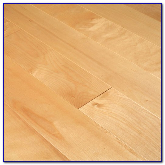 Natural Birch Hardwood Flooring