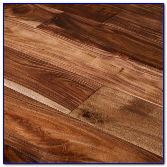 Natural Walnut Acacia Solid Hardwood Flooring