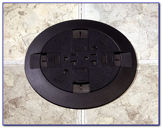 Poke Thru Floor Box Hubbell