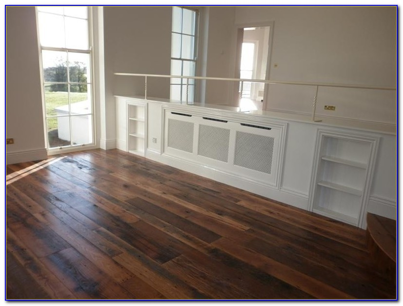 Random Width Solid Hardwood Flooring