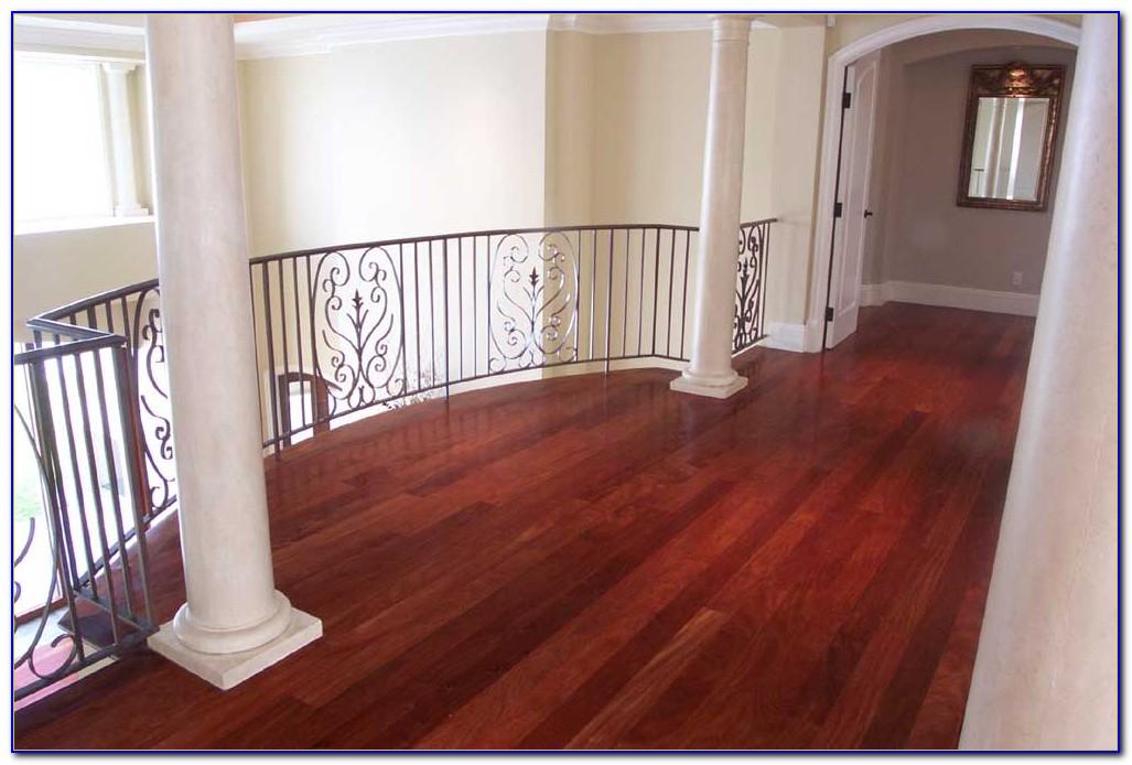 Red Mahogany Hardwood Flooring