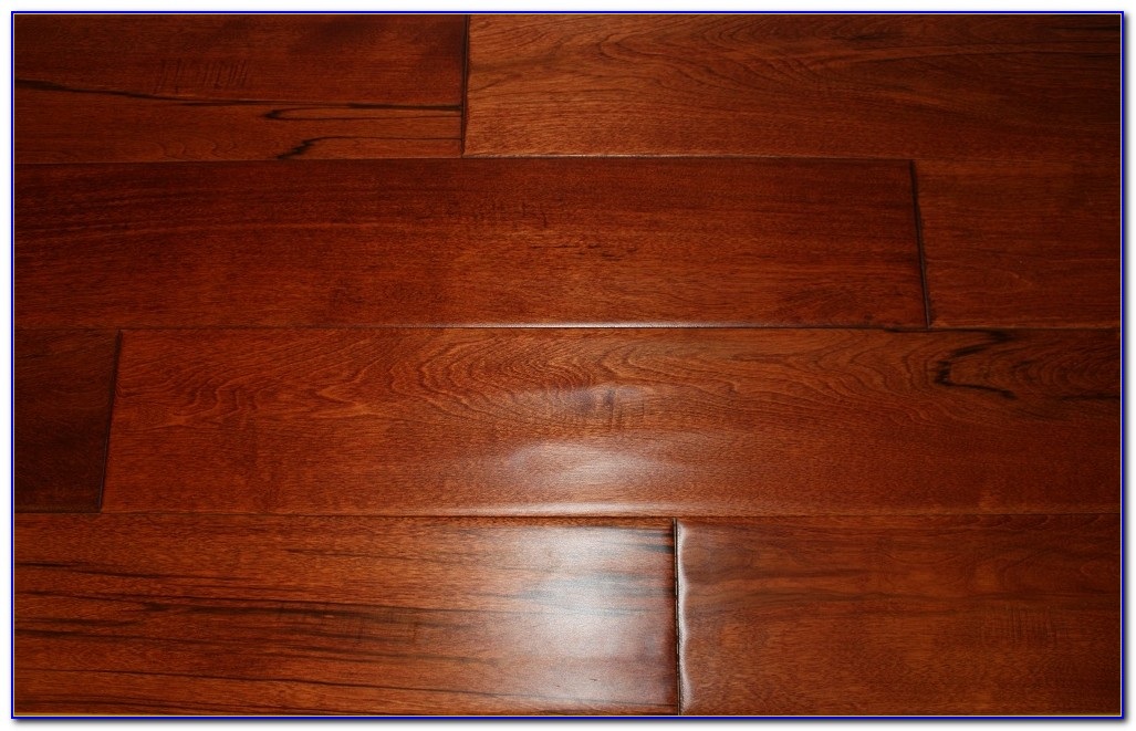 Red Mahogany Wood Floor