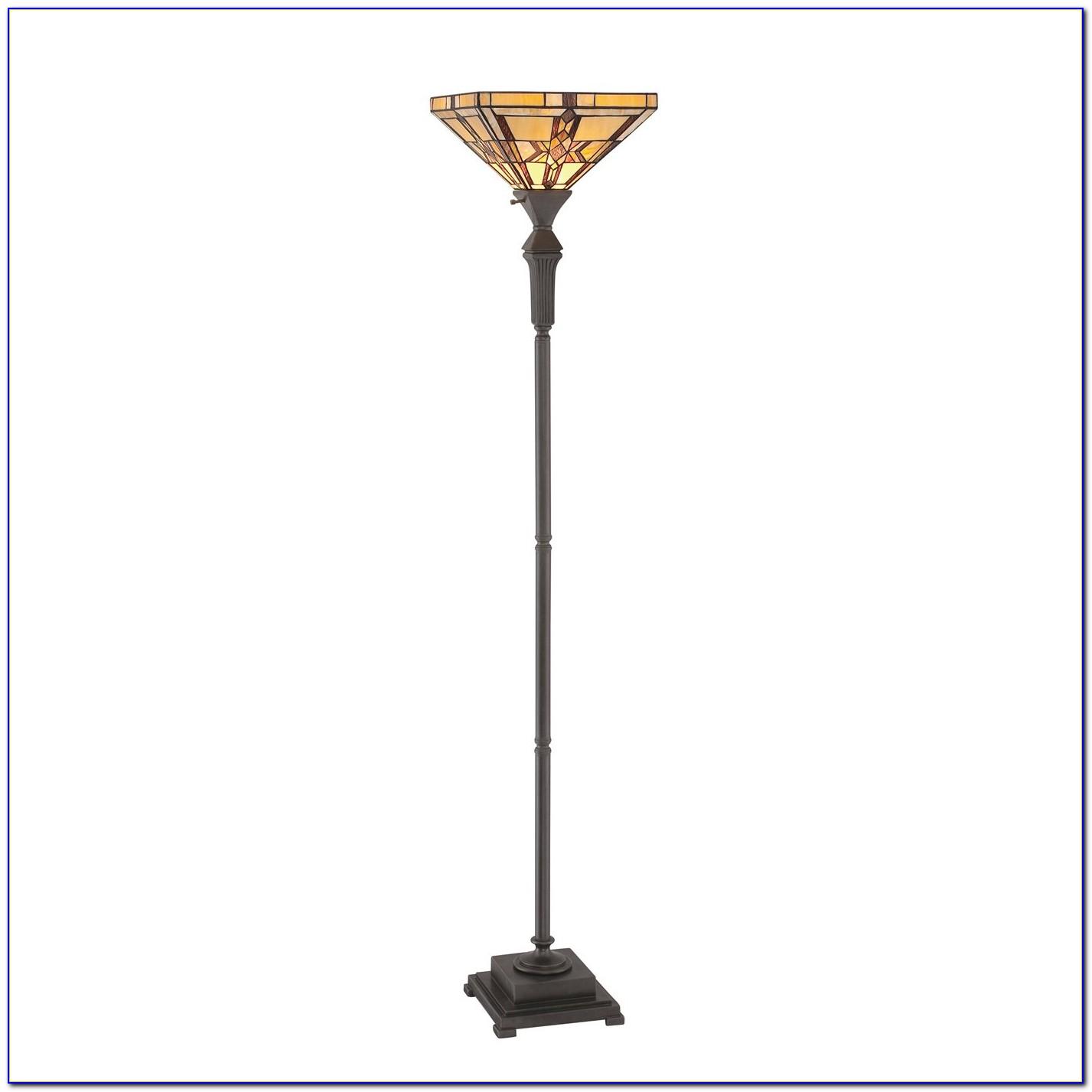 Rhodes Bronze Torchiere Floor Lamp