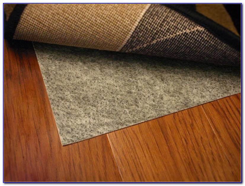 Rug Backing On Hardwood Floors