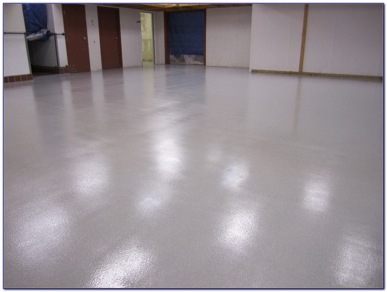 Rustoleum Basement Floor Epoxy Clear Coat