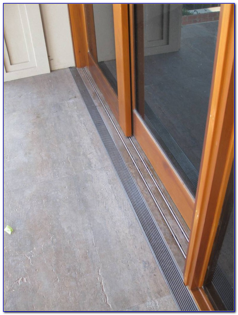 Sliding Door Floor Track Kit