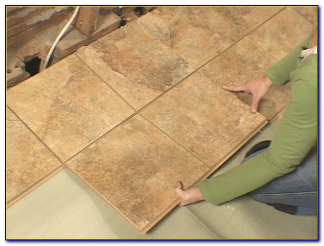 Snap Together Tile Flooring From Menards