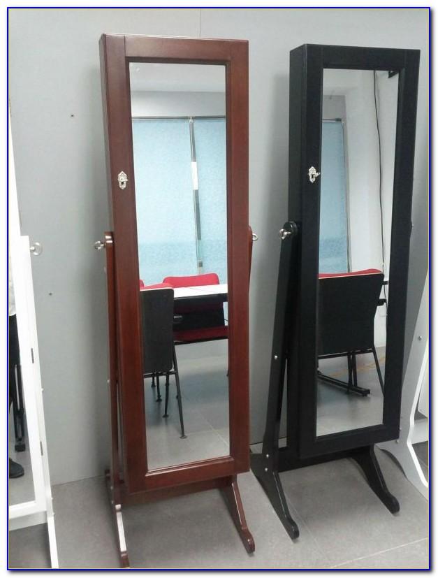Sophia Floor Mirror Jewellery Cabinet