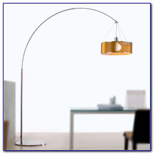 Stainless Steel Arc Floor Lamp