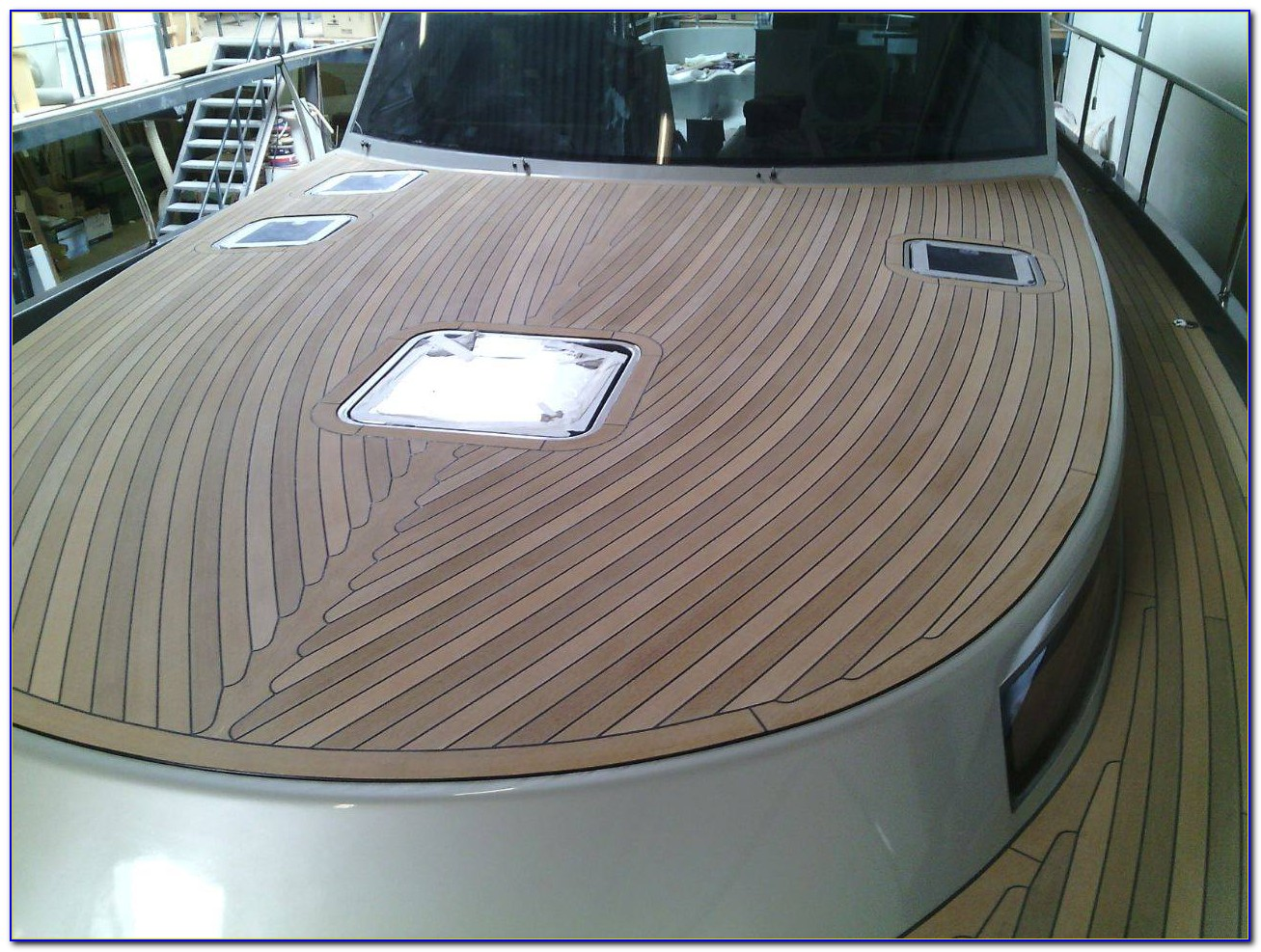 Teak Decking For Boats Perth