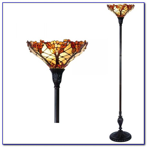 Tiffany Torchiere Floor Lamp Uk