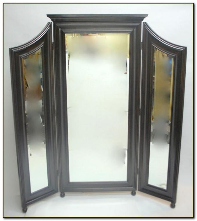 Tri Fold Floor Length Mirror