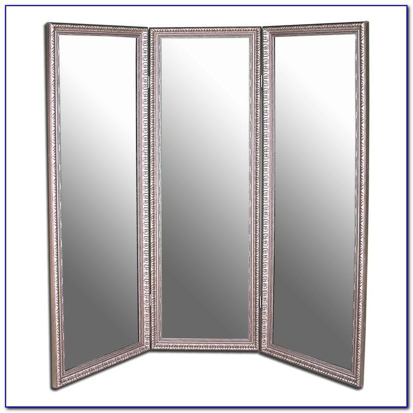Tri Fold Floor Mirror