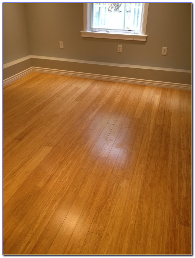 Underlayment Under Bamboo Flooring
