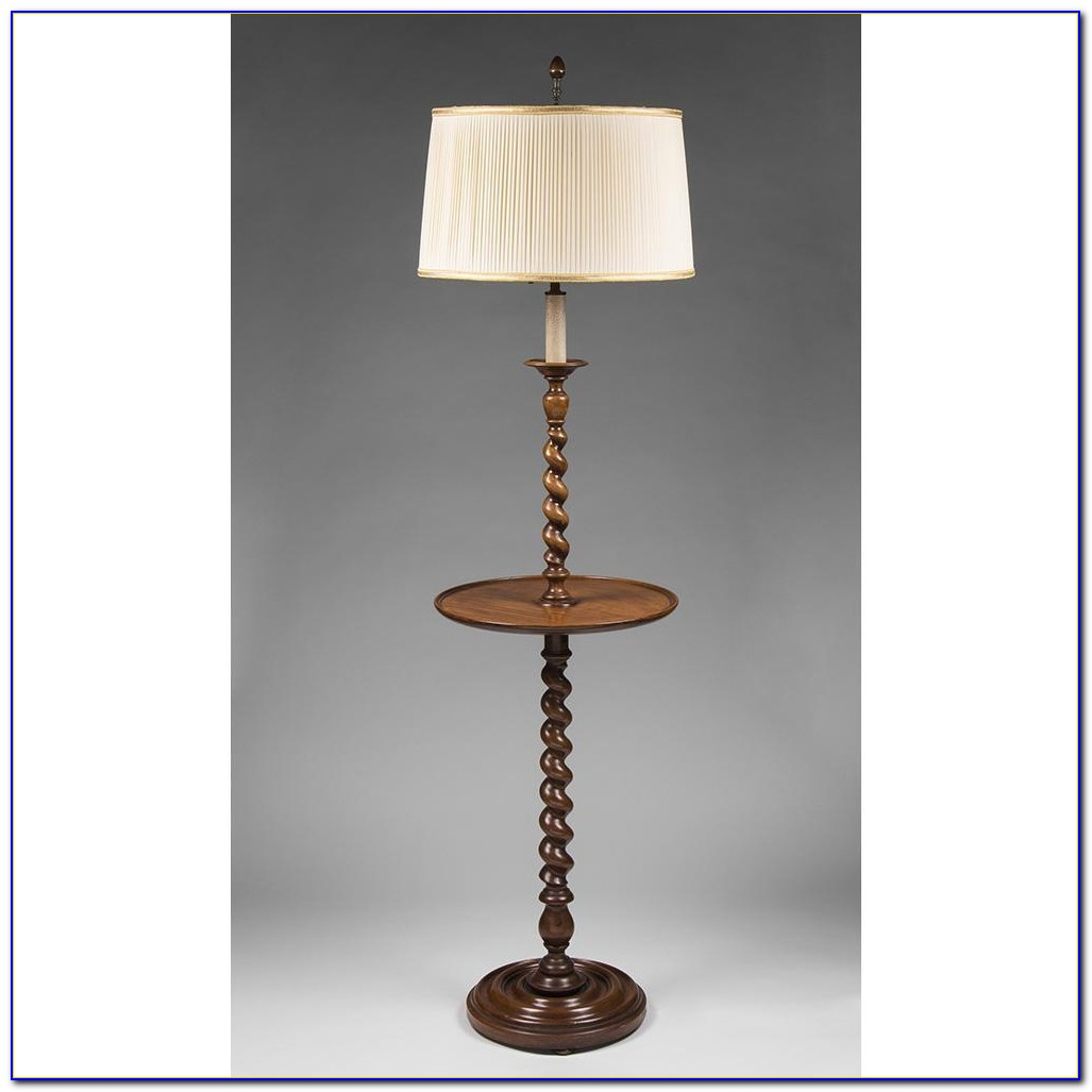 Vintage Barley Twist Floor Lamp