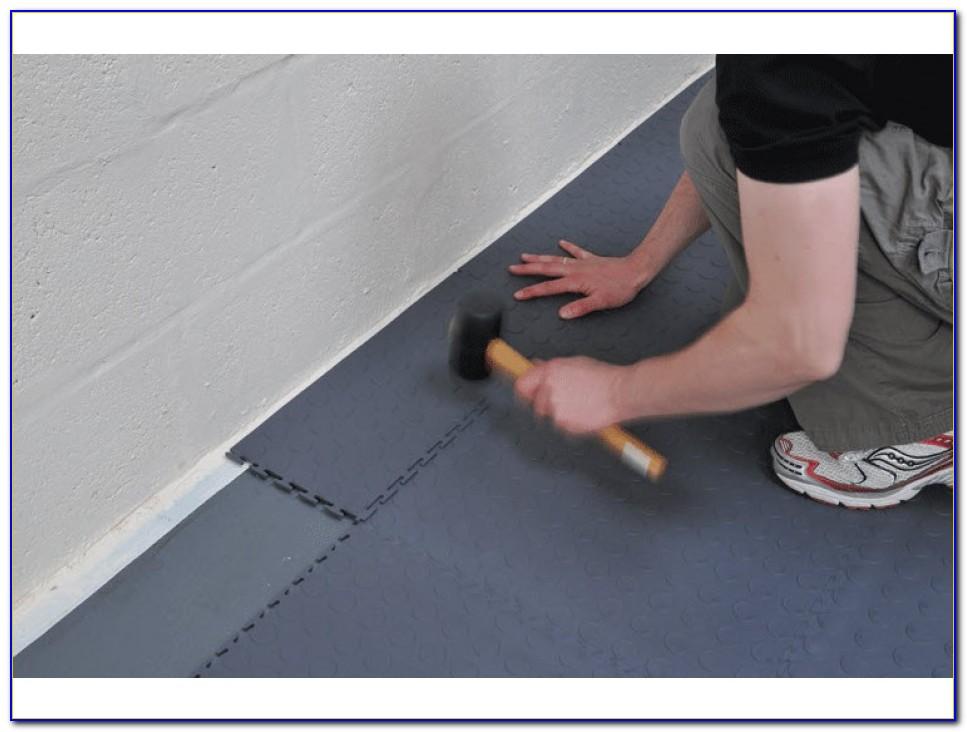 Vinyl Interlocking Garage Floor Tiles