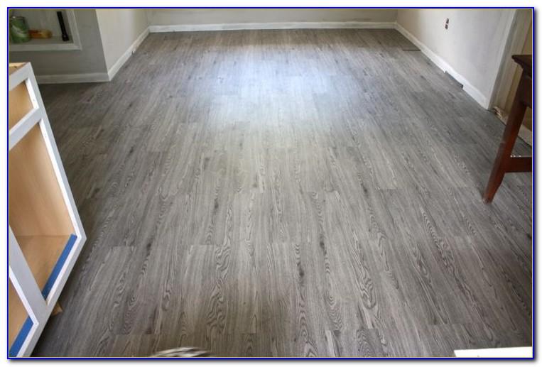 Vinyl Plank Flooring Basement Installation