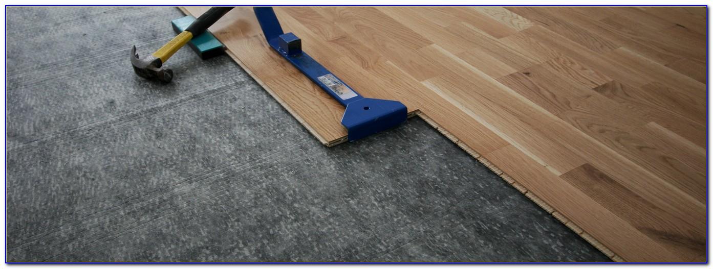 Vinyl Plank Flooring Installation Underlayment