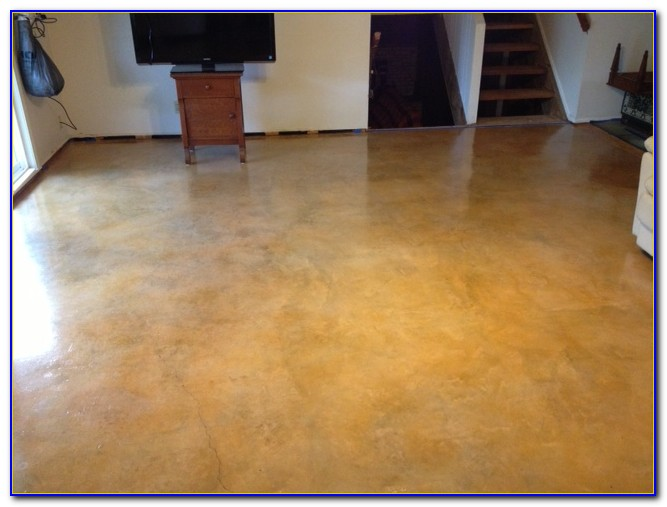 Water Based Concrete Floor Stain