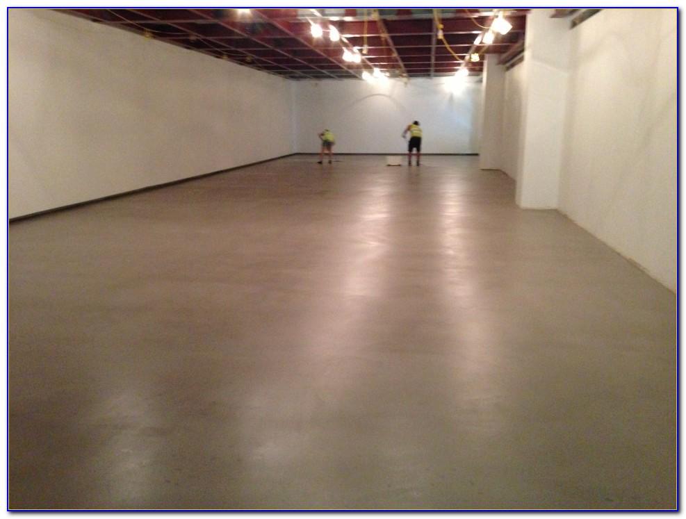 Waxing A Concrete Floor