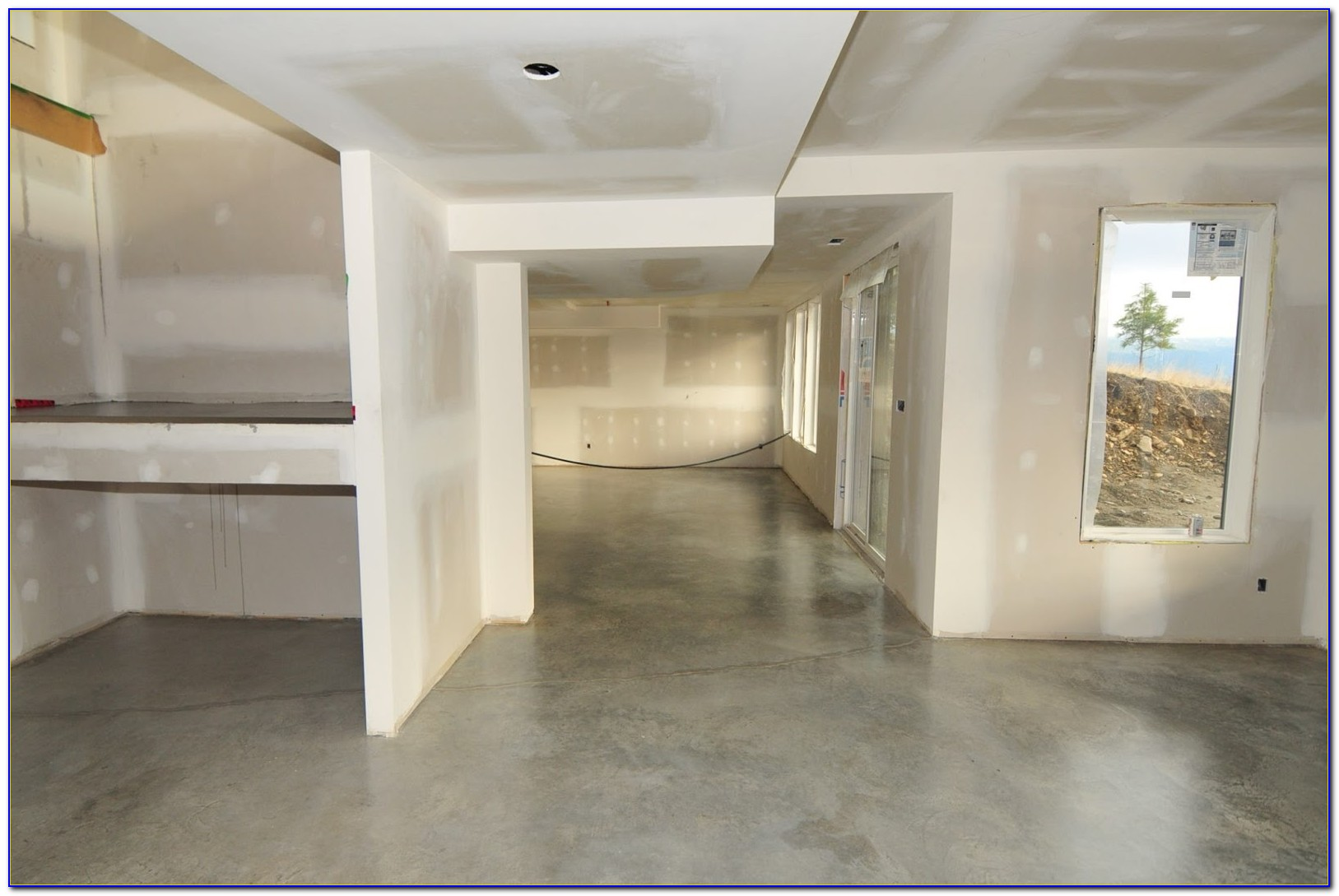 Waxing A Painted Concrete Floor