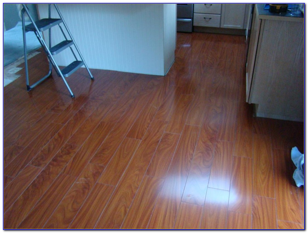 West African Mahogany Laminate Flooring