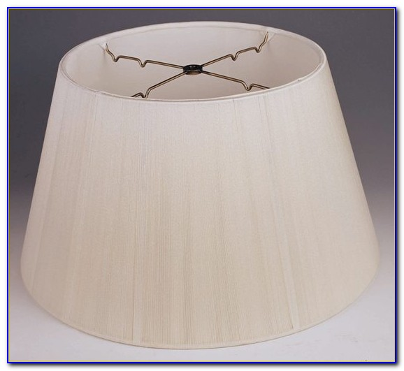 White Lampshade For Floor Lamp