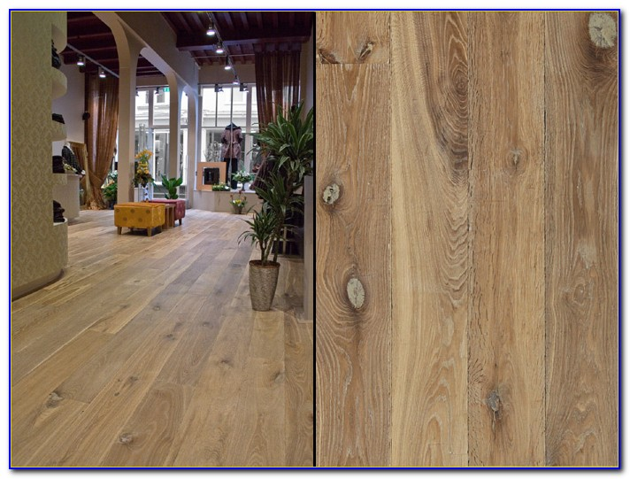Wide Plank Engineered White Oak Flooring