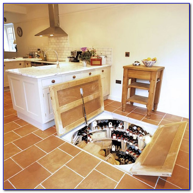 Wine Cellar Below Floor