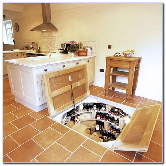 Wine Cellar Below Floor