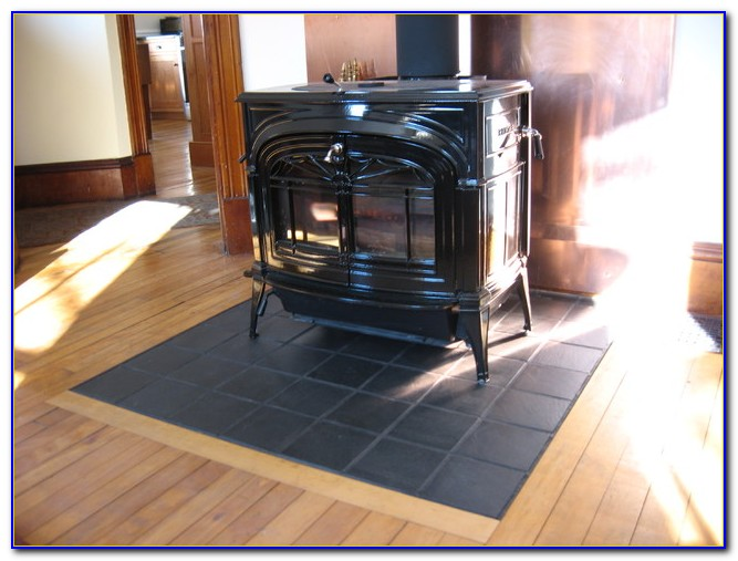Wood Stove Floor Protection Ideas