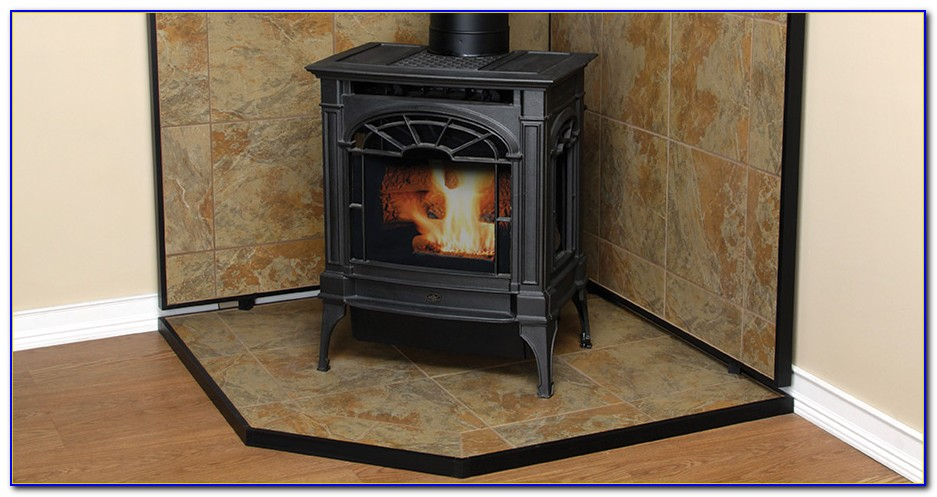 Wood Stove Floor Protection Mats